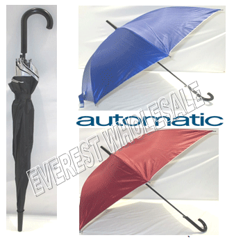 Umbrella Automatic & Durable * Assorted Colors * 6 pcs