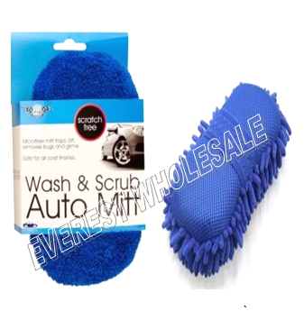 Scratch Free Wash and Scrub Auto Sponge * 6 pcs