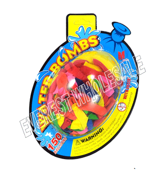 Waterbomb Balloons 150 ct * 12 pcs