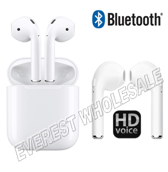Wireless Headset With Charger * White *