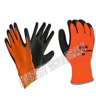 Working Glove Thermal * Orange * 6 pcs