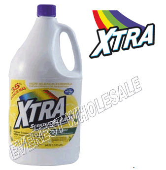 Xtra Bleach 84 fl oz * Fresh Lemon * 6 pcs
