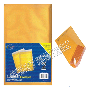 Yellow Bubble Envelope 9 x 13 inches size 2 ct Pack * 12 pcs