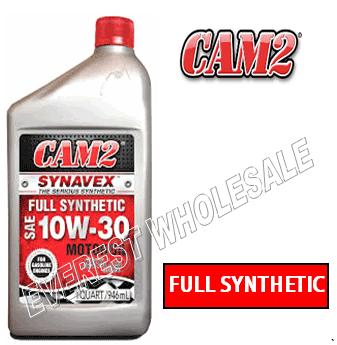 Cam2 Synthetic Motor Oil 1 Qt * 10W-30 * 6 pcs