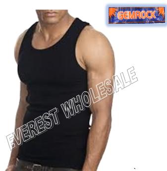 Gemrock A-shirt * Size : L Black * 6 pcs