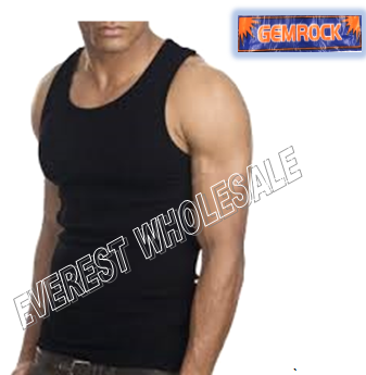 Gemrock A-shirt * Size : 2XL Black * 6 pcs