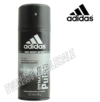 Adidas Body Spray For Men * Dynamic Pulse * 150 ml / 6 pcs