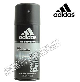 Adidas Body Spray For Men * Dynamic Pulse * 150 ml / 6 pcs