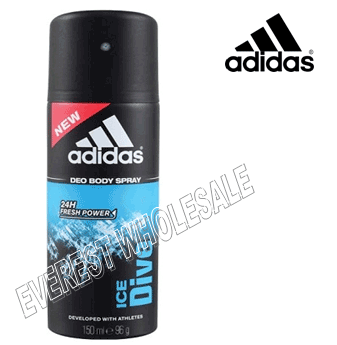 Adidas Body Spray For Men * Ice Dive * 150 ml / 6 pcs