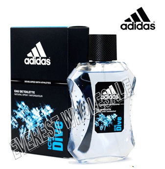 Adidas Cologne 100 ml * Ice Dive * 3 pcs
