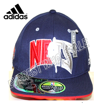 ADIDAS NBA NEW JERSEY NETS Navy Cap Hats * 3 pcs