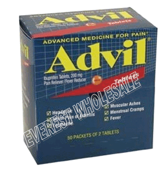 Advil Regular Pouch 50 x 2`s / Box