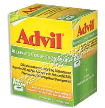 Advil Allergy & Congestion Relief 1`s x 50 ct