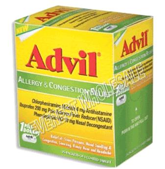 Advil Allergy & Congestion Relief 1`s x 50 ct