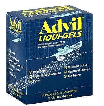 Advil Liqui Gel Pouch 50 x 2`s / Box