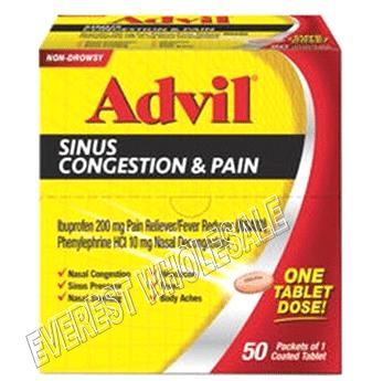 Advil Sinus Congestion & Pain 50 ct