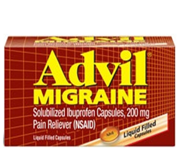 Advil Migraine 24 Caplets / Box * 6 Boxes