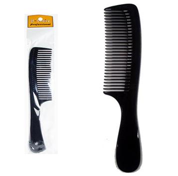Afro Black Plastic Comb * 12 pcs