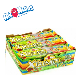 Airheads Xtremes * Rainbow Berry Sour * 18 pks