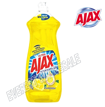 Ajax Dishwash 28 fl oz * Lemon * 9 pcs / Case