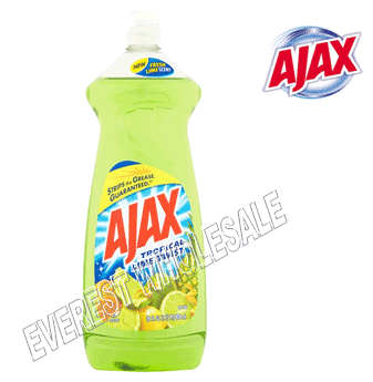 Ajax Dishwash 28 fl oz * Lime * 9 pcs / Case