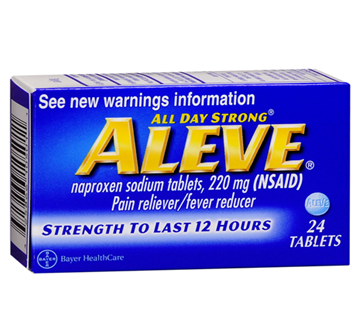Aleve Tablets 24 ct / Box * 6 Boxes