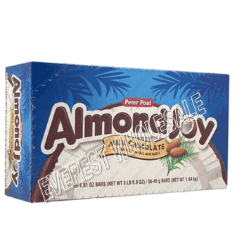 Almond Joy Milk Chocolate Coconut & Almonds 36 ct