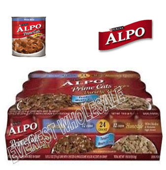 Alpo Prime Cuts Dog Food 13.2 oz * 24 Cans