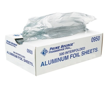 Aluminum Pop Up Sheet 12x10 3/4 * 500 ct / Box