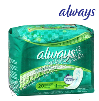 Always Ultra Thin 20 ct * Regular * 12 pcs