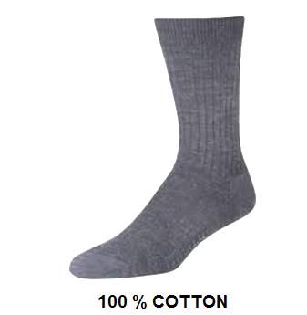 Long Sport Socks * Grey * 12 pcs