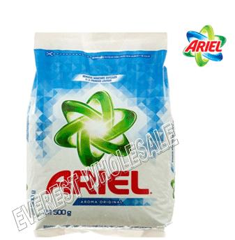 Ariel Powder Laundry Detergent 500g * 18 pcs / Case