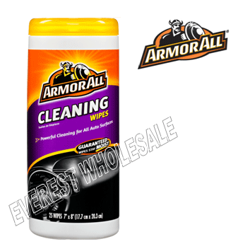 Armor All Wipes 25 ct * Cleaning * 6 pcs