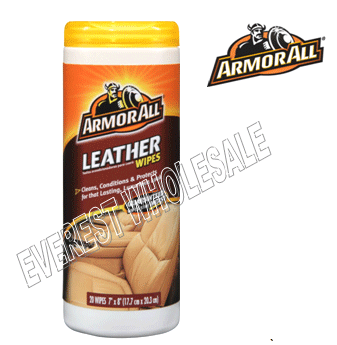 Armor All Wipes 25 ct * Leather * 6 pcs