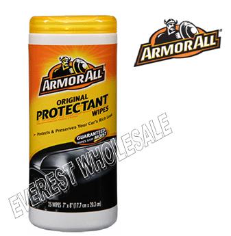 Armor All Wipes 25 ct * Original Protectant * 6 pcs