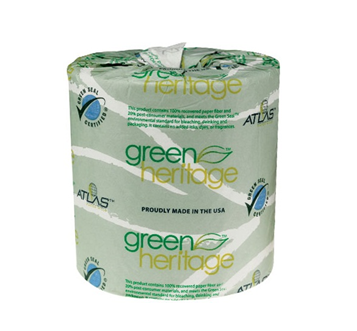 Atlas Green Heritage Bath Tissue 2 Ply * 96 Rolls