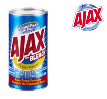 Ajax All Purpose Powder Cleaner * Bleach 14 oz * 24 pcs / Case