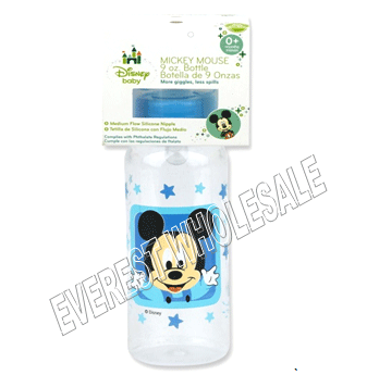 BK Baby Bottle 9 fl oz * Mickey Mouse * 6 pcs