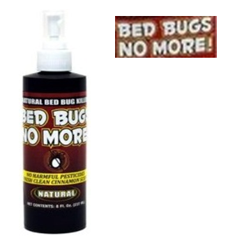 Bed Bugs No More Spray Liquid 8 fl oz * 12 pcs