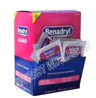 Benadryl Allergy 60 pcks x 2