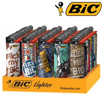 Bic Disposable Lighter * Flick My Bic * 50 ct