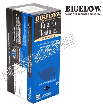 Bigelow Tea * English Teatime * 28 Packs - Box