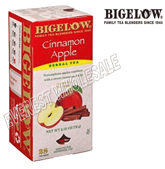Bigelow Tea * Cinnamon Apple * 28 Packs - Box