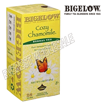 Bigelow Tea * Cozy Chomamile * 28 Packs - Box