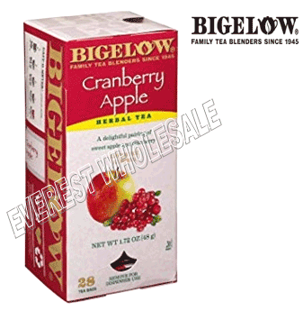 Bigelow Tea * Cranberry Apple * 28 Packs - Box