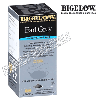 Bigelow Tea * Early Grey * 28 Packs - Box