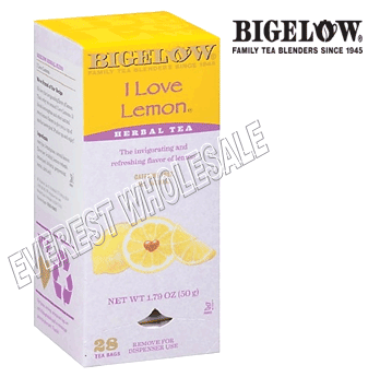 Bigelow Tea * Lemon * 28 Packs - Box