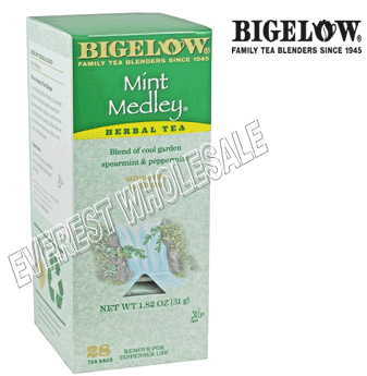 Bigelow Tea * Mint Medley * 28 Packs - Box