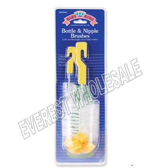 BK Baby Bottle and Nipple Brushes * 2 Pcs Pack * 6 Packs