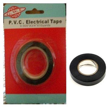 Pvc Black Electrical Tape 12 pcs